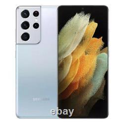 Samsung Galaxy S21 Ultra 5G G998B 256GB 12GB RAM GSM Unlocked International NEW