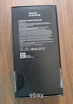 Samsung Galaxy S21 Ultra 5G SM-G998U1 128GB Phantom Silver US Snapdragn UNLOCKED