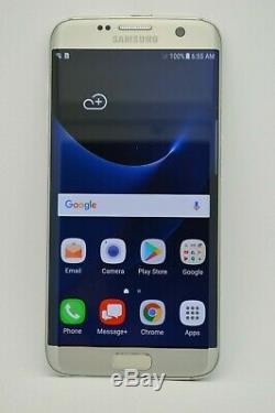 Samsung Galaxy S7 EDGE SM-G935V 32GB SILVER VERIZON UNLOCKED AT&T METRO T-MOBILE