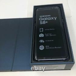 Samsung Galaxy S8 Plus 8+ SM-G955U 64GB AT&T GSM Unlocked Phone All Colors