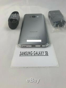 Samsung Galaxy S8 SM-G950U 64GB Arctic Silver Verizon (Unlocked) Smartphone