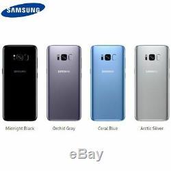 Samsung Galaxy S8 Sm-g950u 64gb Arctic Silver Smartphone For T-mobile Open Box