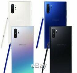 Samsung Note 10 Plus N975u 256gb Aura Glow At&t Gsm Unlocked Free 2 Day Fed Ex