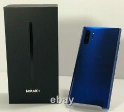 Samsung Note 10+ Plus N975u 256gb Aura White Sprint Customers Free 2 Day Fed Ex
