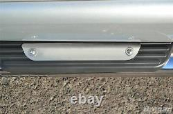 Side Bars + Step Pads For Ford Transit MK7 SWB 2007-2014 Stainless Steel Silver