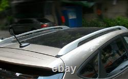 Silver Side Bars Rails Roof Rack Fit For Mazda CX-5 CX5 2012 2016