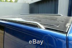 Stainless Steel Roof Rails Rack Rails Bars Carrier Holder for VW T5 SWB