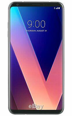 Unlocked LG V30 64GB H932 Silver (GSM) T-Mobile AT&T Cricket Metro Grade A