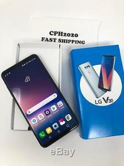 Unlocked New LG V30 H931 64GB AT&T GSM World Phone Silver & Black Color