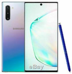 Unlocked Samsung Galaxy Note 10+ Plus 256GB SM-N975U AT&T GSM Phone Aura Glow