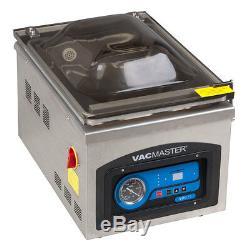 Vacmaster VP215 Table Top Chamber Vacuum Sealer 10in Seal Bar 1/4 HP