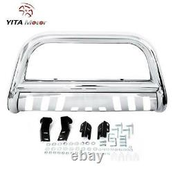 YITAMOTOR Bull Bar Bumper For 04-20 Ford F150 /03-17 Expedition Stainless Steel
